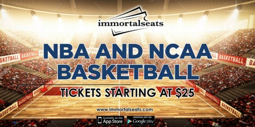 Buy NCAA March Madness and NBA Playoff Tickets