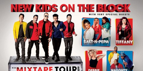 New Kids On The Block - Mixtape Tour