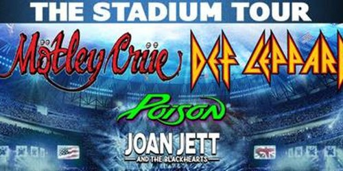 Motley Crue Stadium Tour Tickets