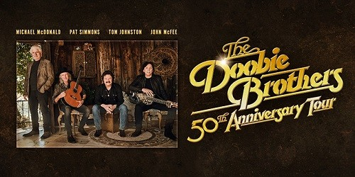 Doobie Brothers 50th Anniversary Tour Tickets
