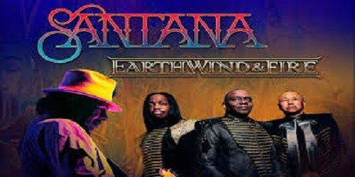 Santana and Earth Wind and Fire Tour Tickets