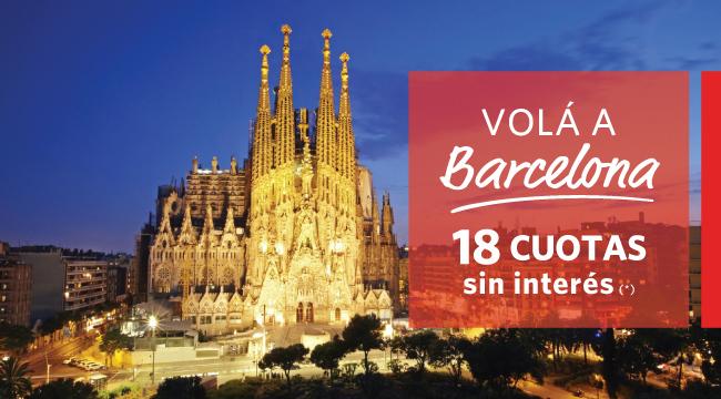 Barcelona 18 cuotas