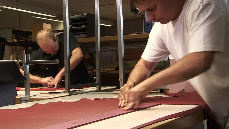 Lederverarbeitung