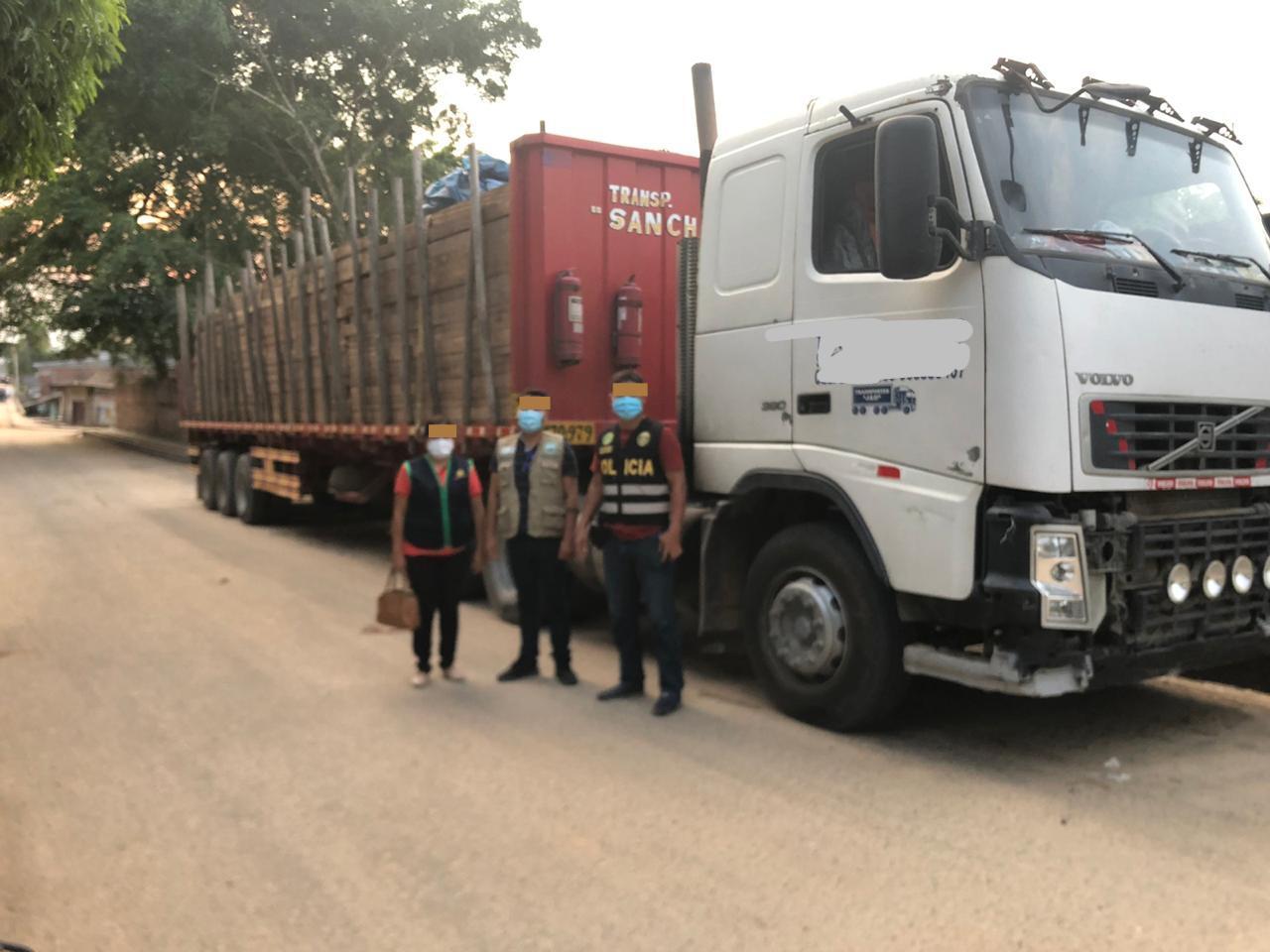 30m3 of Cumala and Lupuna lumber seized in Puerto La Boca
