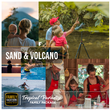 Tropical Paradise - Volcano & Sand