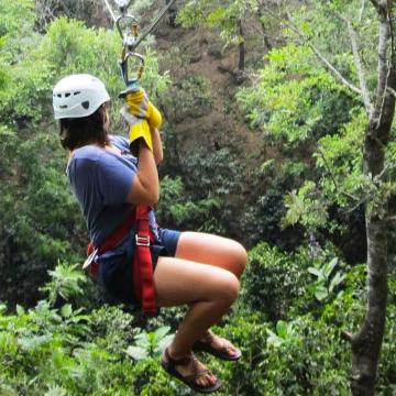Tirolinas sobre el Bosque Nuboso de Monteverde - Canopy