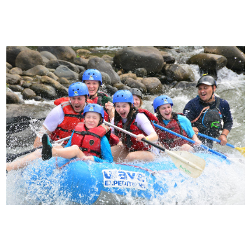Zipline and Whitewater Rafting Class II & III