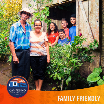 Campesino Farm Experience Costa Rican