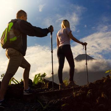 Arenal Volcano Hike Silencio Trail