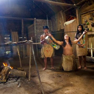 Maleku Indigenous Reserve Mapache