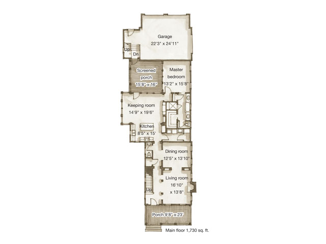 Cumberland Place Southern Living House Plans