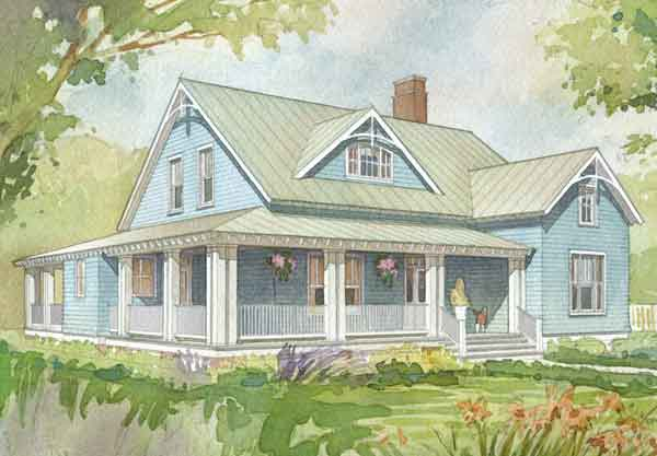 Southern Living Floor Plans: Allison Ramsey Architects, Inc