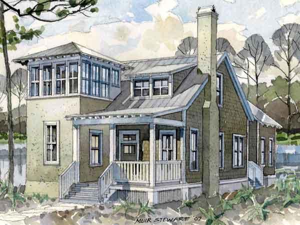 Seaside Lookout Allison Ramsey Architects Inc