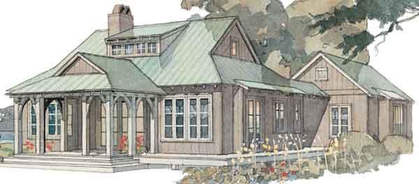 Top 10 House Plans - Coastal Living | Coastal Living Rambler House Plan Lowcountry Southern Living on