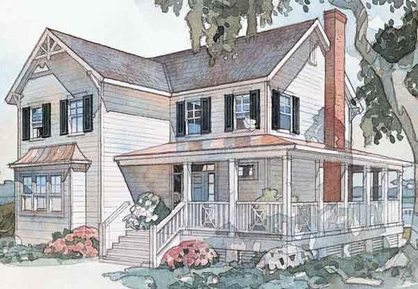 Windsong Cottage Sullivan Design Company Southern