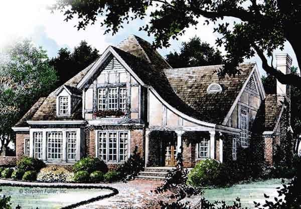 Rosehaven Stephen Fuller Inc Southern Living House Plans