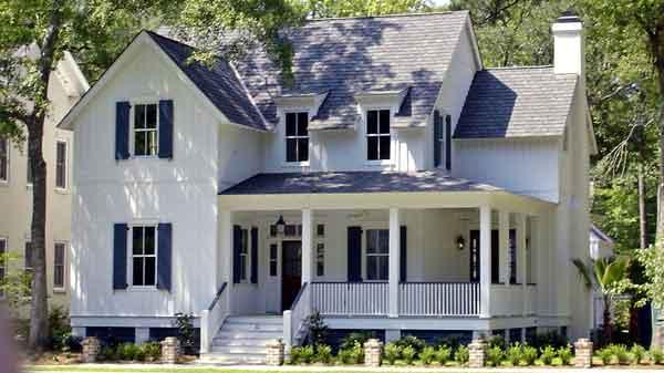 Elegant Old American Farmhouse Style Mansion | iDesignArch ... |Old American Farmhouse Plans