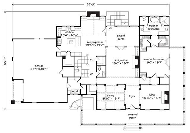 Ansley Park Timothy Bryan Llc Southern Living House Plans