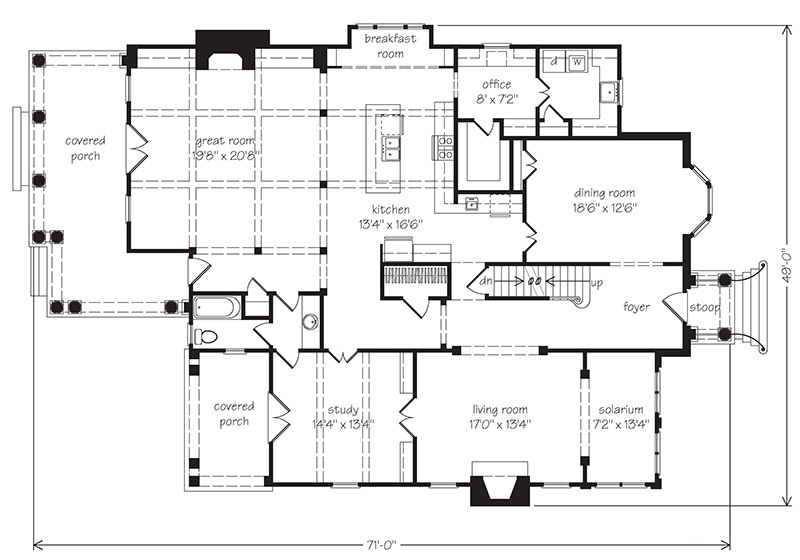 Camilla Stephen Fuller Inc Southern Living House Plans