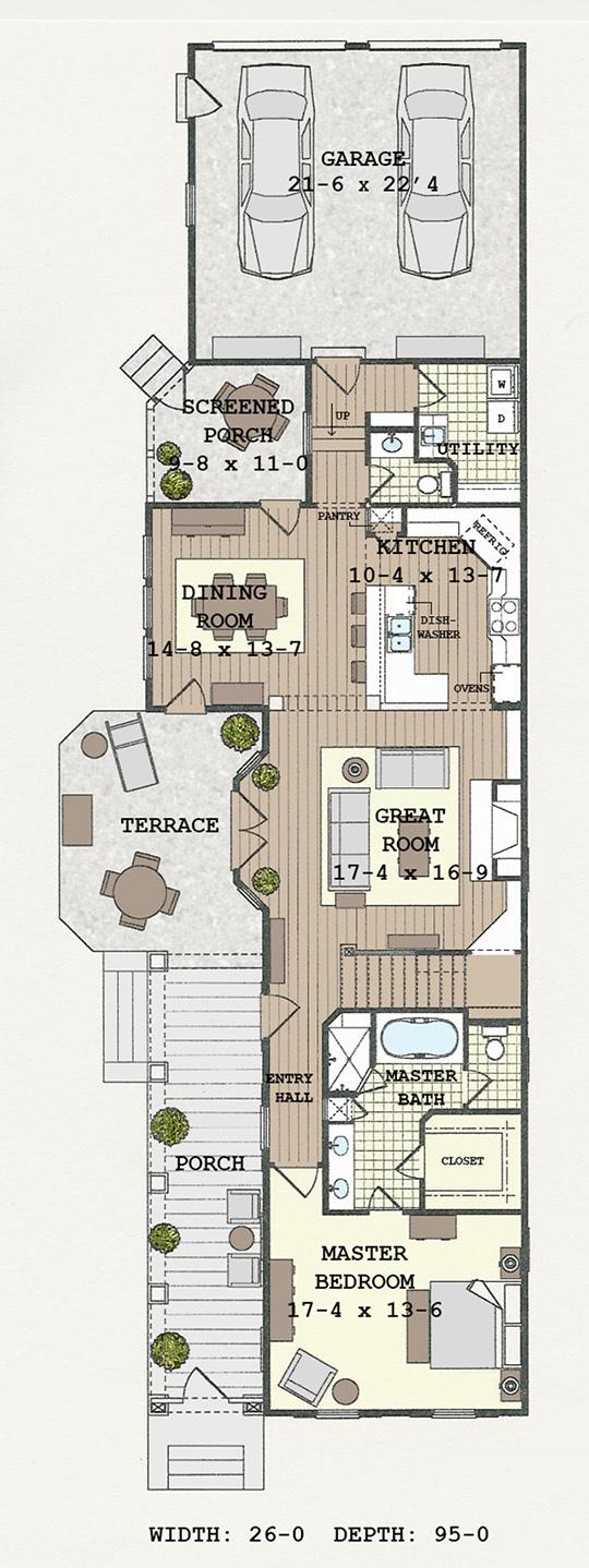 Anson Park Building Science Associates Southern Living House Plans