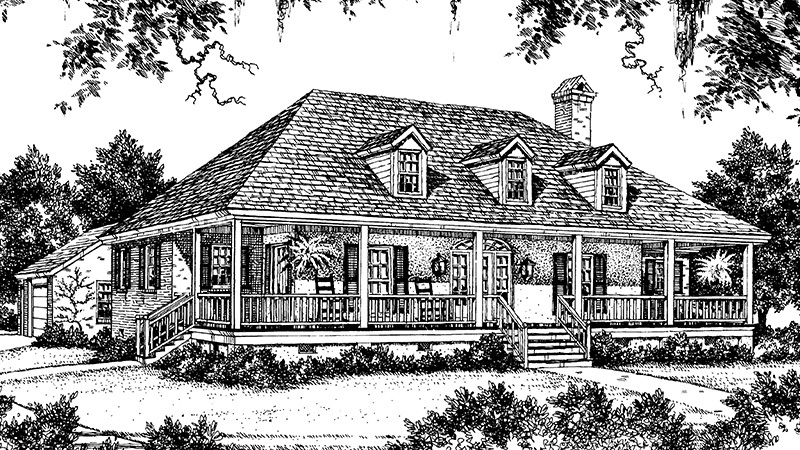 An Acadian Clic - Ben Patterson, AIA | Southern Living ... on historic house plans, small colonial house plans, mission revival house plans, new country house plans, small country house plans, french house plans, saltbox farmhouse plans, country style house plans, elevated house plans, raised cabin plans, southern living house plans, creole style house plans, cottage house plans, tudor revival house plans, raised bed wall materials, simple country house plans, louisiana style house plans, south louisiana house plans, island colonial house plans,