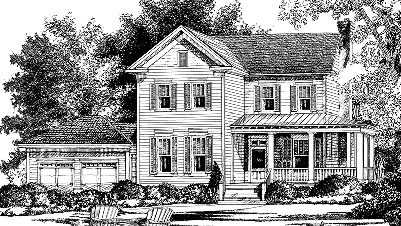 Elizabeth S Place Mitchell Ginn Southern Living House Plans