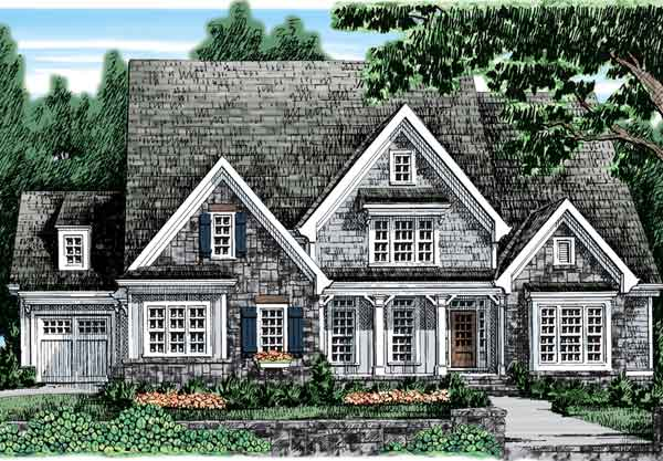 plans with 3 car attached garages house plans southern living rh houseplans southernliving com Large 2 Bedroom Home Plans with 5 Car Garages Open House 3 Car Garage Plans