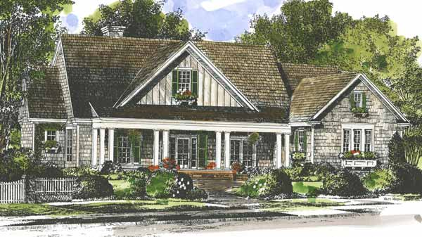 Single Floor Country House Plans: Southern Living House Plans