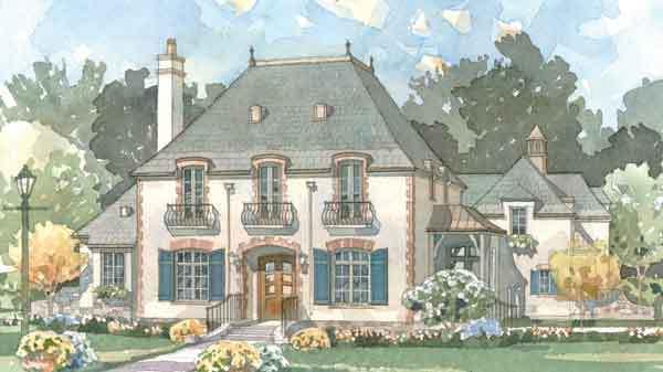 La Maison Sur Loire New South Classics Llc Southern Living House Plans