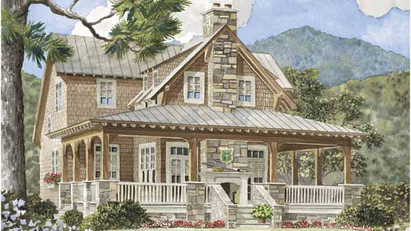 Southern Living Floor Plans: Wrap-around Porches House Plans