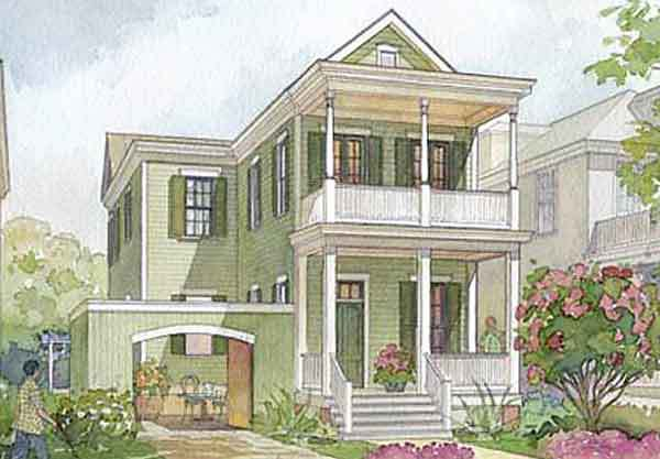 2007 Cottage Living Idea House Cottage Living Southern Living