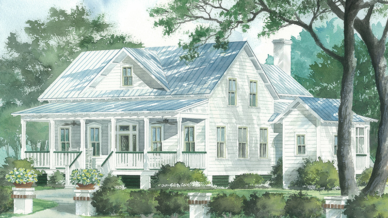 The Potter's House - R.N. Black ociates, Inc. | Southern ... on raised ranch front porch designs, southern greek revival house plans, coastal bungalow house plans, beaufort style house plans, coastal living house plans, creole cottage plans, raised beach house, southern style house plans,