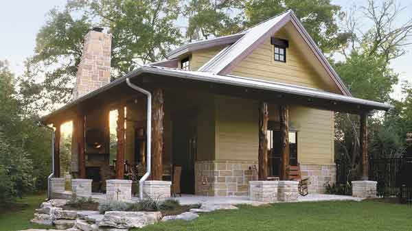 Peachy Cedar Creek Guest House Insite Architecture Inc Southern Largest Home Design Picture Inspirations Pitcheantrous