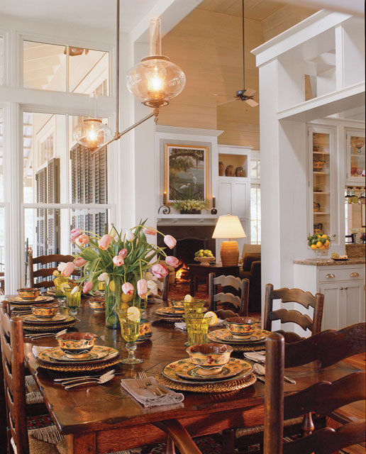 Colored Dining Chairs Farmhouse