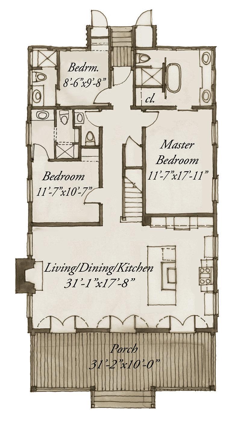 SL-1807_F1 Versions Aiken House Plan on hemingway house plan, lexington house plan, chesnee house plan,