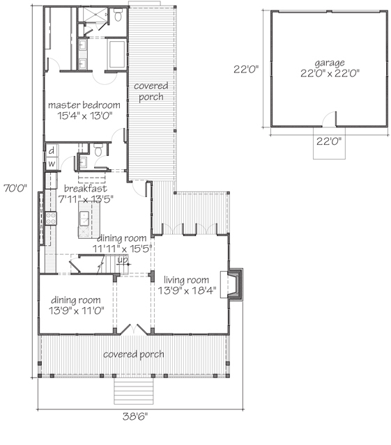 Pendleton Southern Living House Plans