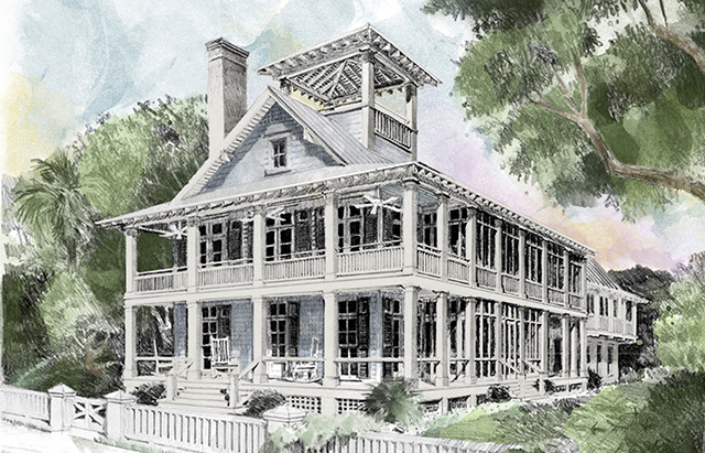 Blue Sky Southern Living House Plans