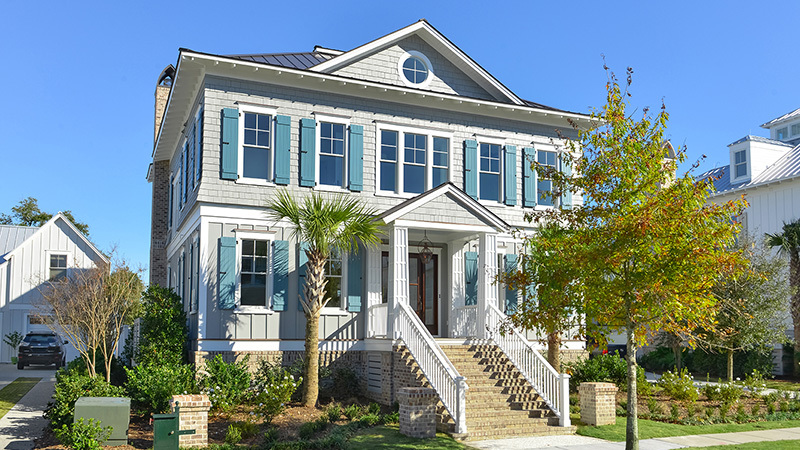 Bohicket - | Southern Living House Plans