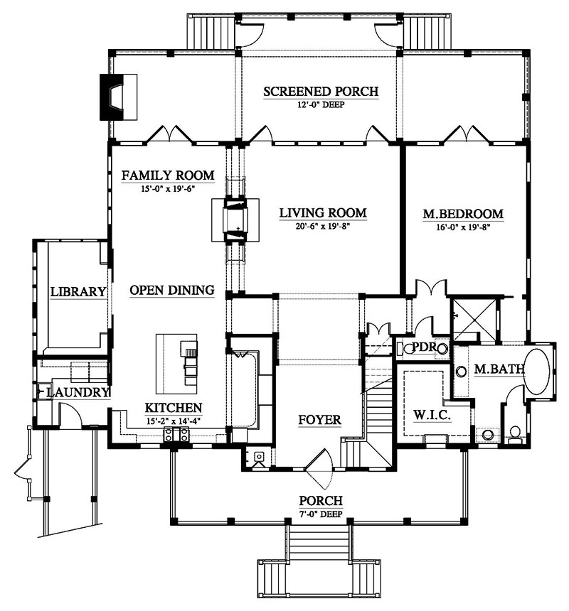 Old Oyster Southern Living House Plans