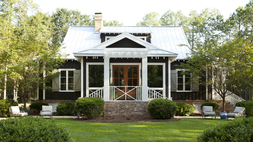 Farmdale cottage southern living house plans for Southern cottage house plans with photos