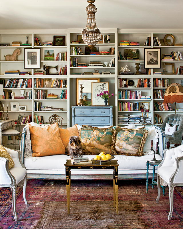 Cottage Home Library: Southern Living House Plans