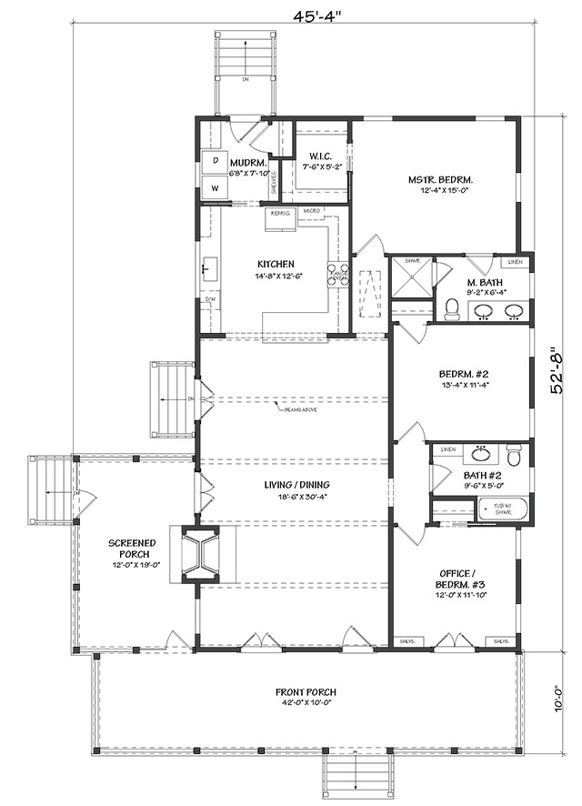 River S Edge Southern Living House Plans