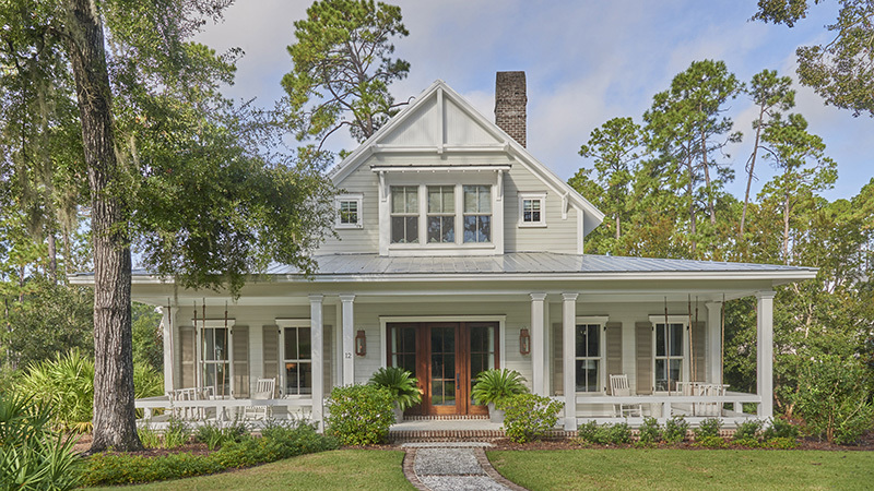 Lowcountry Farmhouse - | Southern Living House Plans on