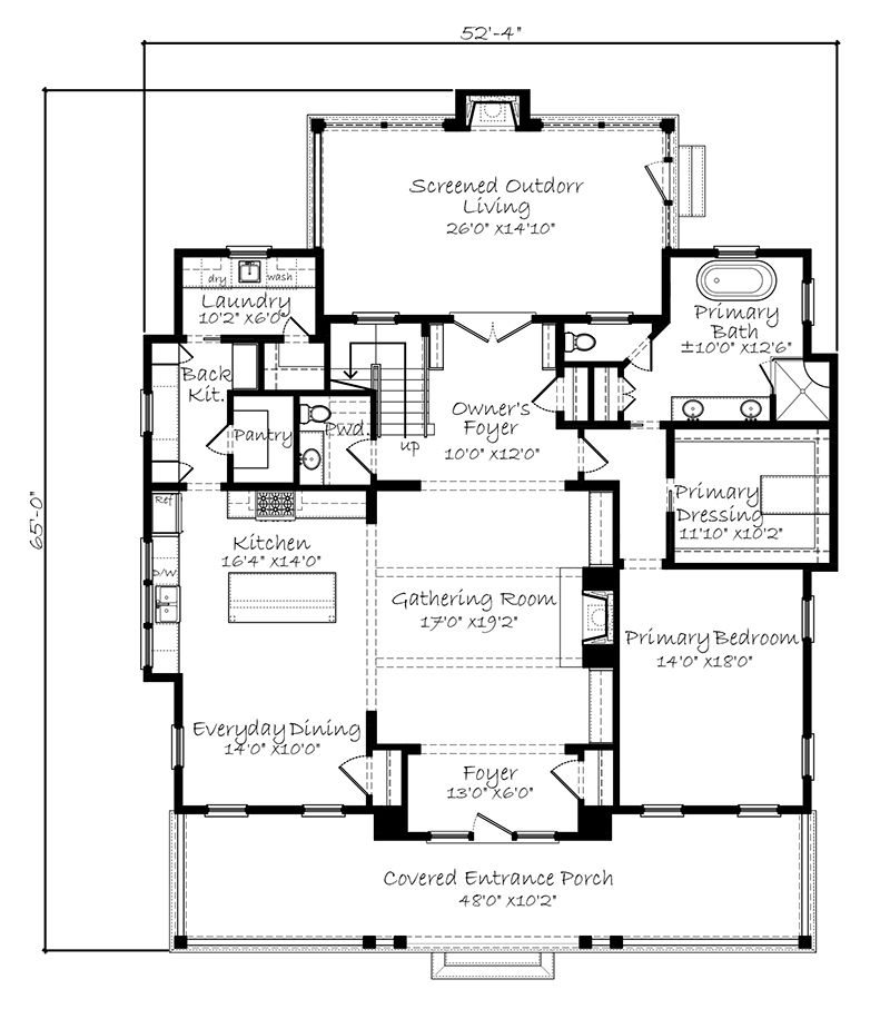 Lowcountry Farmhouse - | Southern Living House Plans on adobe house 2500 square foot, narrow lot house plans, 3 2 house plans 2000 sq foot,