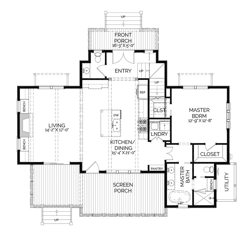 Evergreen Cottage Southern Living House Plans