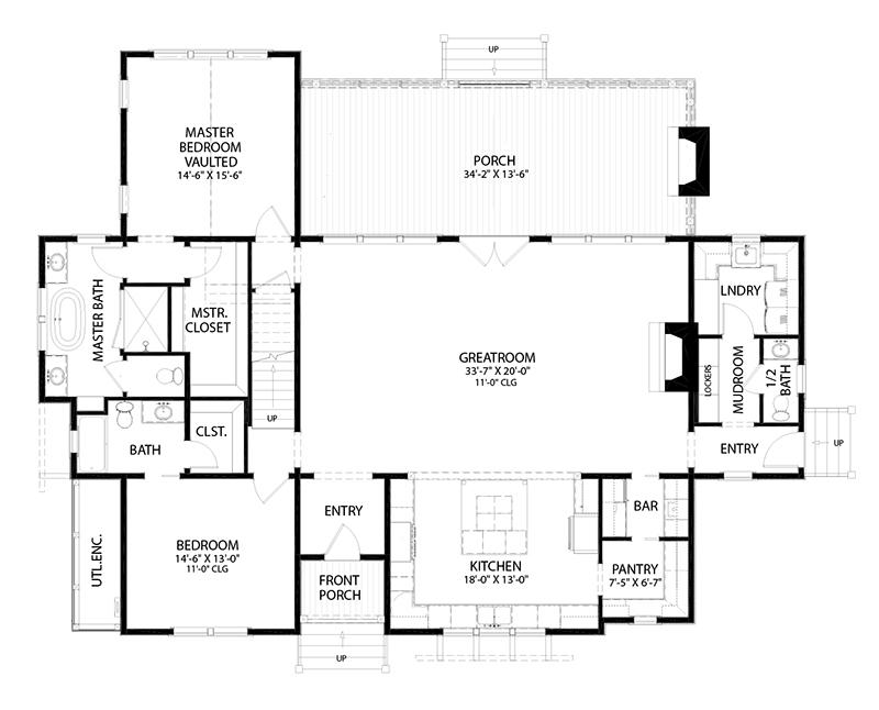 Alder Cottage Southern Living House Plans