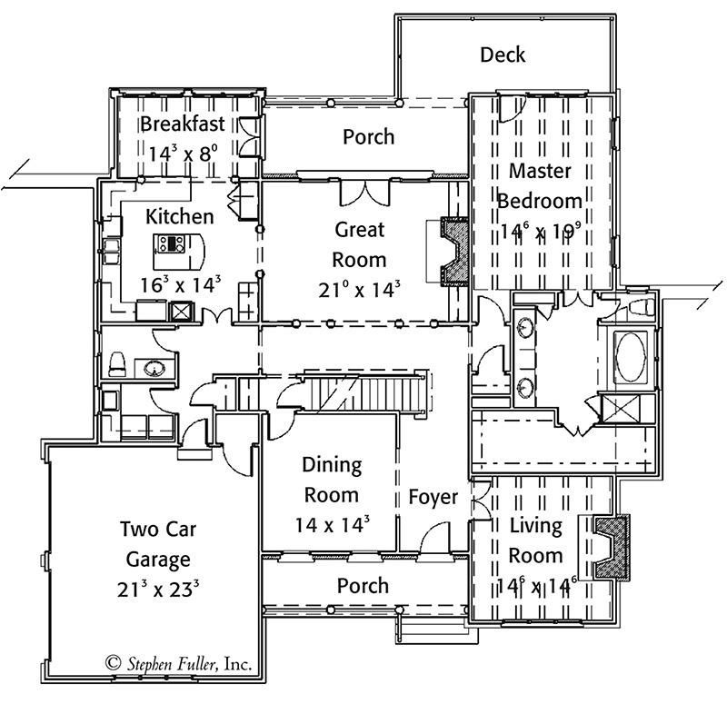 Breckenridge Peak Southern Living House Plans