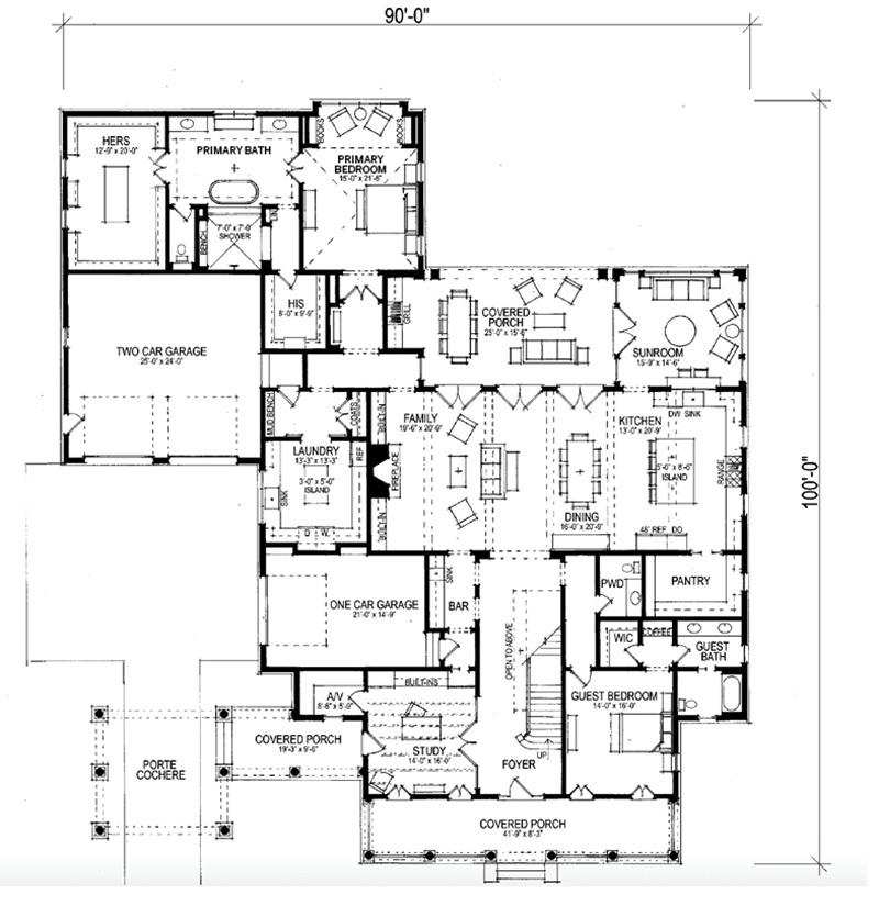 Caroline Southern Living House Plans