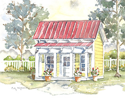 Dogtrot house plan