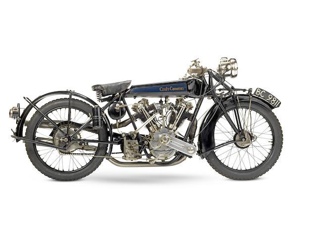 1924 Croft-Cameron 996cc Super Eight